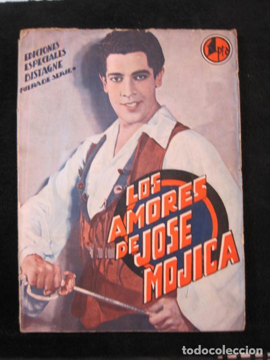 JOSE MOJICA-LOS AMORES DE JOSE MOJICA-CON FOTOS-EDICIONES BISTAGNE-VER FOTOS-(K-1927) (Cine - Foto-Films y Cine-Novelas)