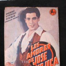 Cine: JOSE MOJICA-LOS AMORES DE JOSE MOJICA-CON FOTOS-EDICIONES BISTAGNE-VER FOTOS-(K-1927). Lote 243872510