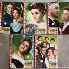 Cine: LA FAMILIA TRAPP (RUTH LEUWERIK & HAND HOLT). NOVELA FOTOFILM COMPLETA CON LOS 5 FASCÍCULOS. ED. FHE. Lote 132710350
