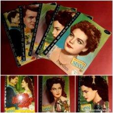 Cine: SISSI LA PELÍCULA COMPLETA EN 5 FASCÍCULOS EDICIONES FHER 1957. Lote 247761170