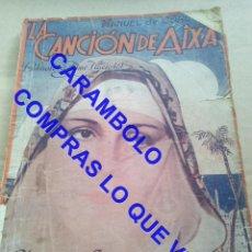 Cinéma: LA CANCION DE AIXA EDICIONES ALAS U35. Lote 251084135