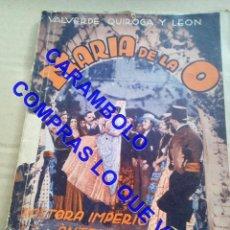 Cinéma: MARIA DE LA O BIBLIOTECA FILMS PASTORA IMPERIO U35. Lote 251084950