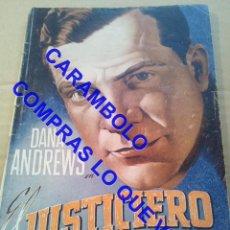 Cinéma: EL JUSTICIERO DANA ANDREWS EDICIONES BISTAGNE U35. Lote 251359990