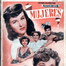 Cine: MUJERES - JEAN FONTAINE, JOAN CRAWFORD... (ALAS, C. 1945). Lote 257455470