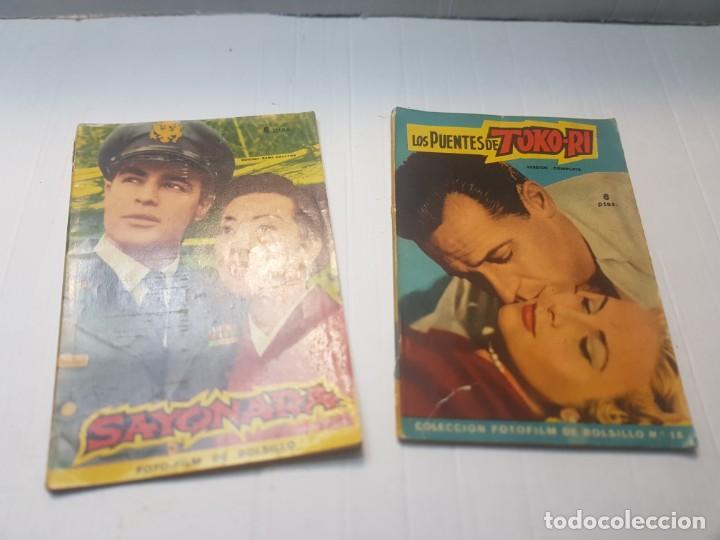 FOTO-FILM BOLSILLO SAYONARA Y TOKO-RI COLECCIÓN BOLSILLO 1959 (Cine - Foto-Films y Cine-Novelas)