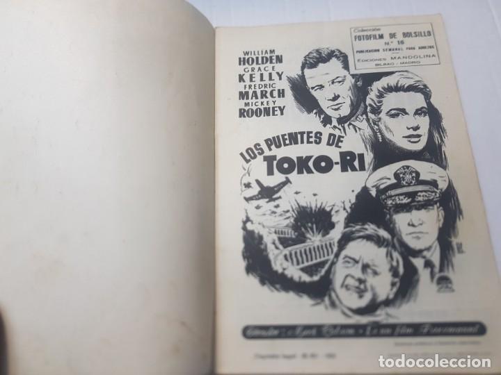 Cine: Foto-Film Bolsillo Sayonara y Toko-Ri colección Bolsillo 1959 - Foto 2 - 257933850