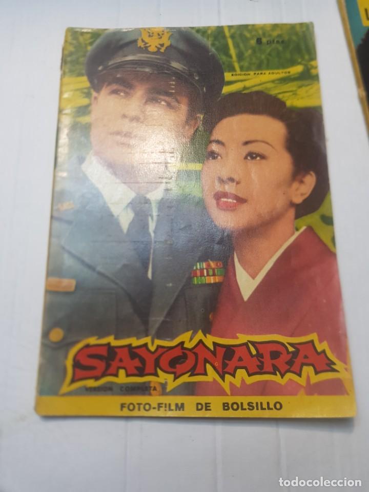 Cine: Foto-Film Bolsillo Sayonara y Toko-Ri colección Bolsillo 1959 - Foto 5 - 257933850