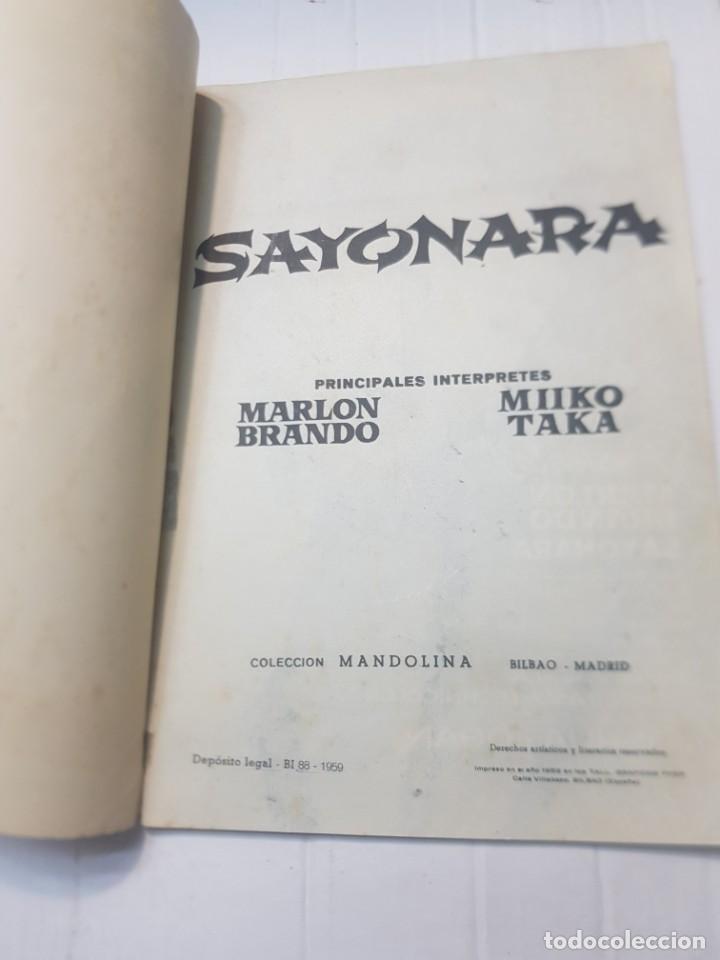 Cine: Foto-Film Bolsillo Sayonara y Toko-Ri colección Bolsillo 1959 - Foto 6 - 257933850