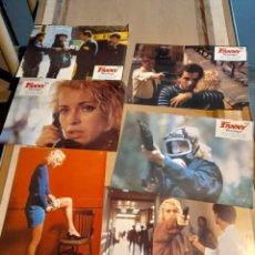 Cine: LOTE 6 FOTO FILMS DE LA PELICULA FANNY PELOPAJA ( VICENTE ARANDA, FANNY COTTERCON, BRUNO CREMER ). Lote 261294020