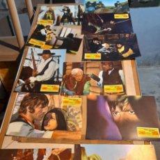 Cine: LOTE 11 FOTO FILMS DE DJANGO DESAFIA A SARTANA ( GEORGE ARDISSON , TONY KENDALL). Lote 261294505