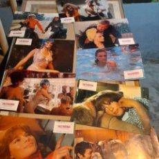 Cine: LOTE 9 FOTO FILMS DE SALTARINA ( JACQUELINE BISSET ). Lote 261295035