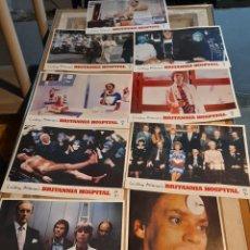 Cine: LOTE 9 FOTO FILMS DE BRITANNIA HOSPITAL ( MALCOLM MCDOWELL ). Lote 261295415