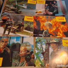 Cine: LOTE 6 FOTO FILMS DE COMANDO PATOS SALVAJES ( KLAUS KINSKI + LEE VAN CLEEF ). Lote 261296335