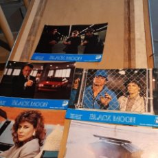 Cine: LOTE 5 FOTO FILMS DE BLACK MOON ( TOMMY LEE JONES + LINDA HAMILTON ). Lote 261296840