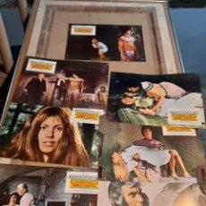 Cine: LOTE 7 FOTO FILMS DE EL SECRETO DE LA MOMIA EGIPCIA ( FRANK BRAÑA ). Lote 261296975