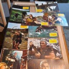 Cine: LOTE 9 FOTO FILMS DE LOS CUCHILLOS DEL VENGADOR (CAMERON MITCHELL ). Lote 261297370