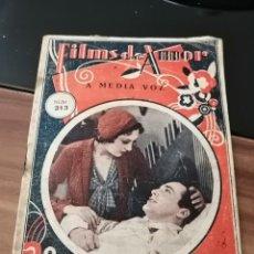 Cine: FILMS DE AMOR A MEDIA VOZ N°313. Lote 262261910