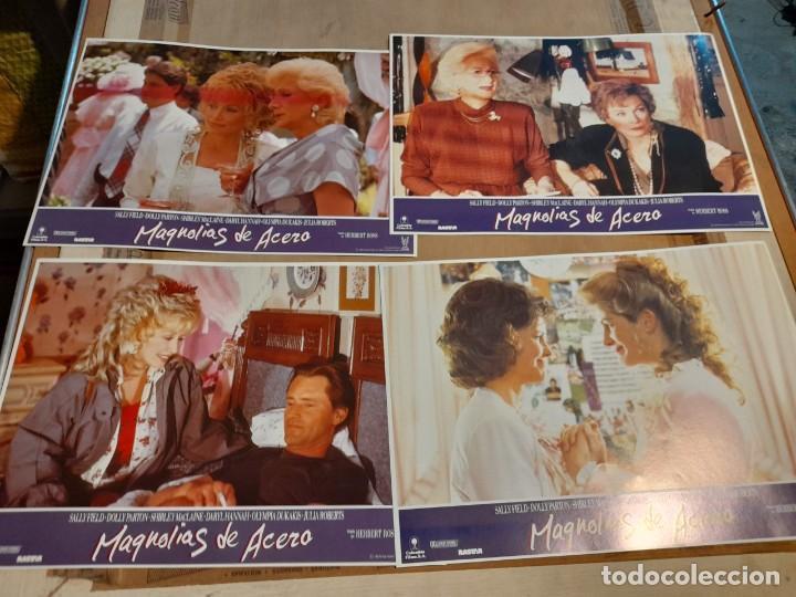 LOTE 4 FOTO FILMS DE MAGNOLIAS DE ACERO ( SALLY FIELD,DOLLY PARTON, SHIRLEY MCLAINE ) (Cine - Foto-Films y Cine-Novelas)
