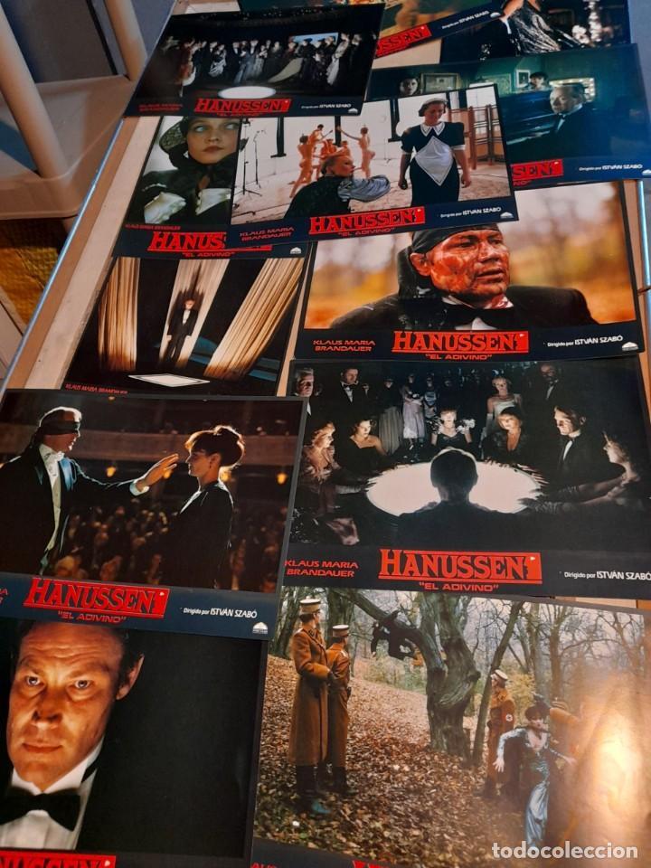 LOTE 12 FOTO FILMS DE HANUSSEN ( KLAUS MARIA BRANDAUER ) (Cine - Foto-Films y Cine-Novelas)