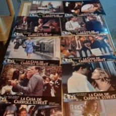 Cine: LOTE 10 FOTO FILMS DE LA CASA DE CARROLL STREET ( KELLY MCGILLIS + JEFF DANIELS ). Lote 262955310
