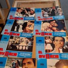 Cine: LOTE 8 FOTO FILMS DE EL DIVORCIO ( VITTORIO GASSMAN ). Lote 262958160
