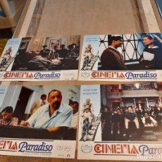 Cine: LOTE 4 FOTO FILMS DE CINEMA PARADISO. Lote 262958285