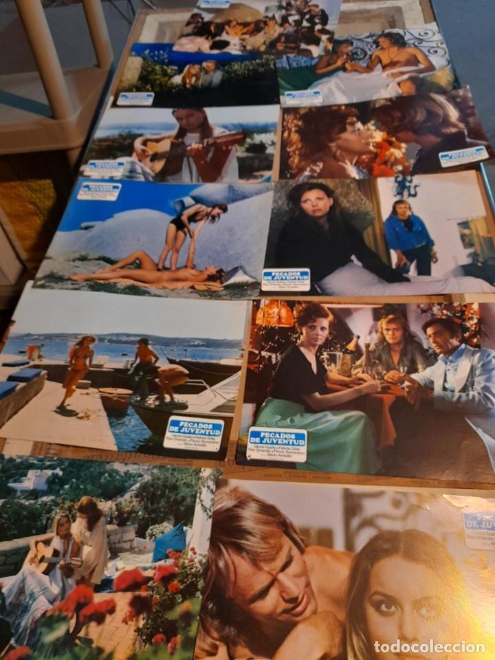 LOTE 11 FOTO FILMS DE PECADOS DE JUVENTUD ( GLORIA GUIDA + FELICIA GHIA) (Cine - Foto-Films y Cine-Novelas)