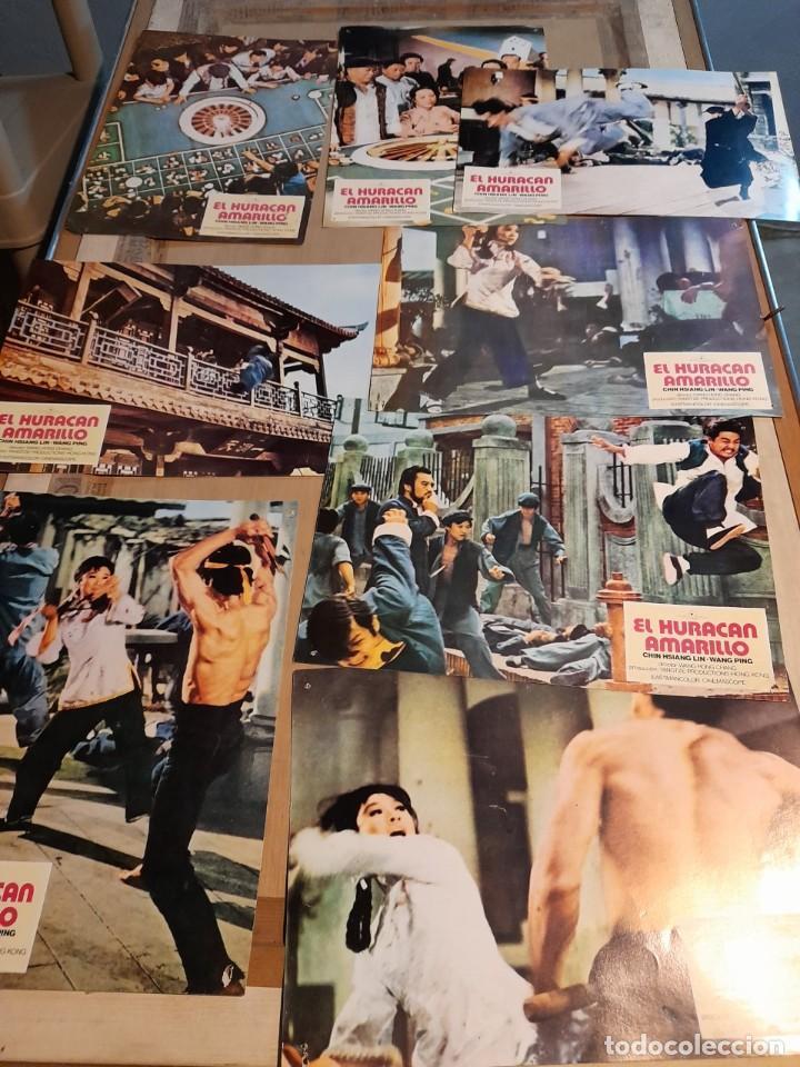 LOTE 8 FOTO FILMS DE EL HURACAN AMARILLO ( KARATE MOVIE ) (Cine - Foto-Films y Cine-Novelas)