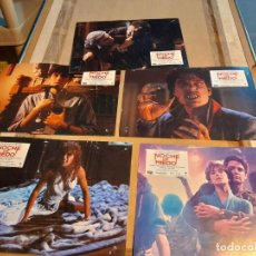Cine: LOTE 5 FOTO FILMS DE NOCHE DE MIEDO ( TOM HOLLAND ). Lote 262959775