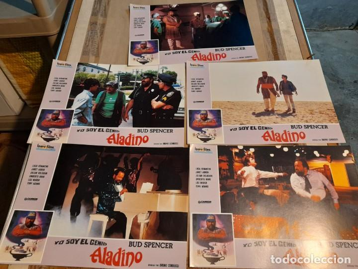 LOTE 5 FOTO FILMS DE ALADINO, YO SOY EL GENIO ( BUD SPENCER ) (Cine - Foto-Films y Cine-Novelas)