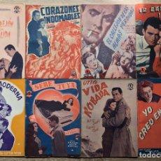 Cine: 8 FOTO-CINE-NOVELAS AÑOS 1930-40. Lote 264028995