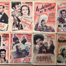 Cine: 8 FOTO-CINE-NOVELAS AÑOS 1930-40. Lote 264030115