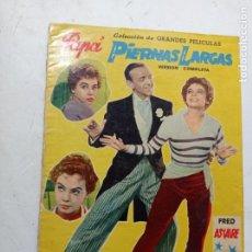 Cinema: COLECCIÓN GRANDES PELÍCULAS 1958 FRED ASTAIRE LESLIE CARON PAPÁ PIERNAS LARGAS. Lote 266050103