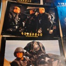 Cinema: LOTE 8 CARTELES FILM : STARSHIP TROOPERS ( PAUL VERHOEVEN ). Lote 266067728