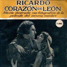 Cine: RICARDO CORAZON DE LEON (C. 1925). Lote 267808434