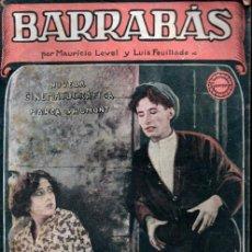 Cine: BARRABAS (GAUMONT, C. 1925). Lote 267808824
