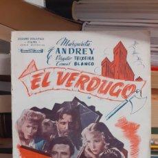 Cine: EL VERDUGO. Lote 270964318