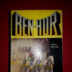 Cine: BEN HUR EDITORIAL MAUCCI 1960 CON FOTOGRAFIAS DE LA PELICULA. Lote 273166868