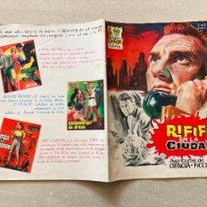 Cinema: RIFIFI EN LA CIUDAD - Nº 6 - JESUS / JESS FRANCO - EDITORPRESS. Lote 275063868