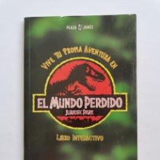 Cinema: EL MUNDO PERDIDO JURASSIC PARK LIBRO INTERACTIVO. Lote 275480848