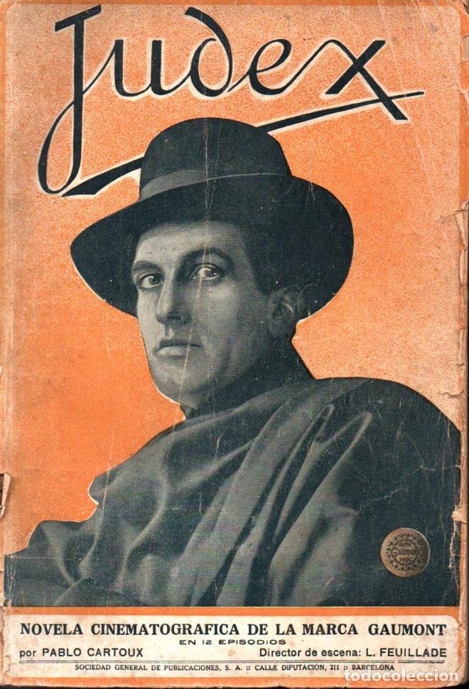 Cine: JUDEX Y LA NUEVA MISIÓN DE JUDEX (GAUMONT, c. 1920) - Foto 2 - 275587758