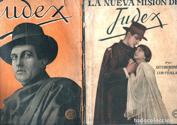 JUDEX Y LA NUEVA MISIÓN DE JUDEX (GAUMONT, C. 1920) (Cine - Foto-Films y Cine-Novelas)