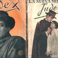 Cine: JUDEX Y LA NUEVA MISIÓN DE JUDEX (GAUMONT, C. 1920). Lote 275587758