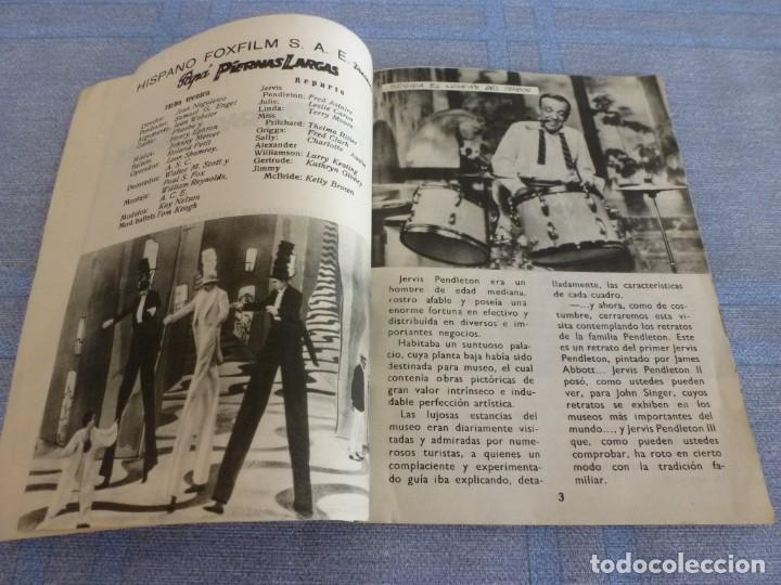 Cine: (BTA) PAPÁ PIERNAS LARGAS- FRED ASTAIRE Y LESLIE CAROL- FOTOFILM DE BOLSILLO Nº: 4 ED. MANDOLINA - Foto 3 - 277752758