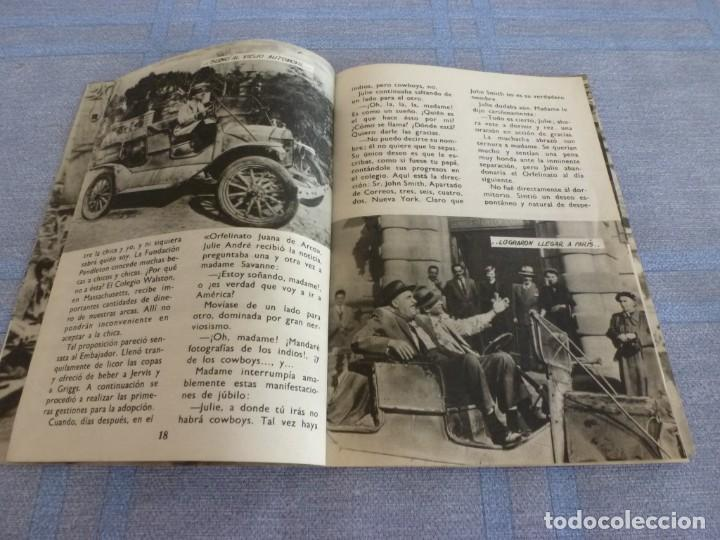 Cine: (BTA) PAPÁ PIERNAS LARGAS- FRED ASTAIRE Y LESLIE CAROL- FOTOFILM DE BOLSILLO Nº: 4 ED. MANDOLINA - Foto 8 - 277752758