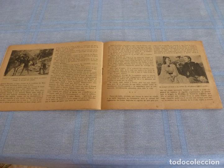 Cine: (BTA) MURIERON CON LAS BOTAS PUESTAS-ORIGINAL DE DECADA DE LOS 40-EDICIONES BISTAGNE-ERROL FLYNN - Foto 6 - 277761443