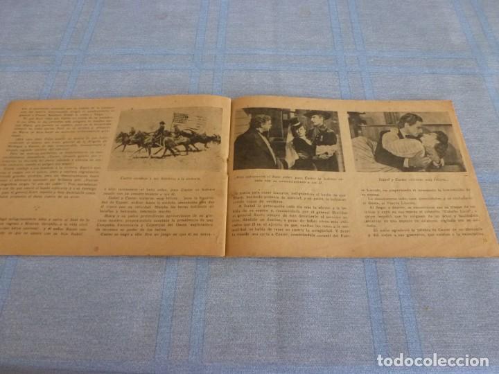 Cine: (BTA) MURIERON CON LAS BOTAS PUESTAS-ORIGINAL DE DECADA DE LOS 40-EDICIONES BISTAGNE-ERROL FLYNN - Foto 7 - 277761443