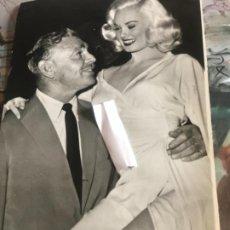 Cine: FOTOGRAFÍA MAMIE VAN DOREN Y CLARK GABLE 1958. Lote 284558398