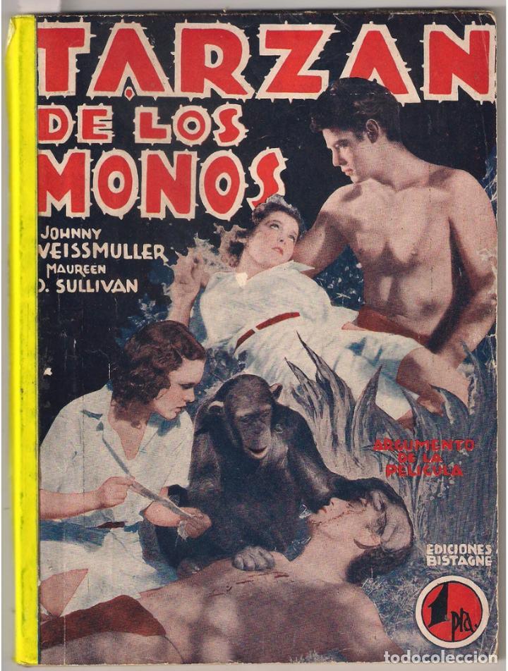 PO97D TARZAN DE LOS MONOS WEISSMULLER O'SULLIVAN NOVELA CON FOTOS SEMANAL CINEMATOGRAFICA (Cine - Foto-Films y Cine-Novelas)