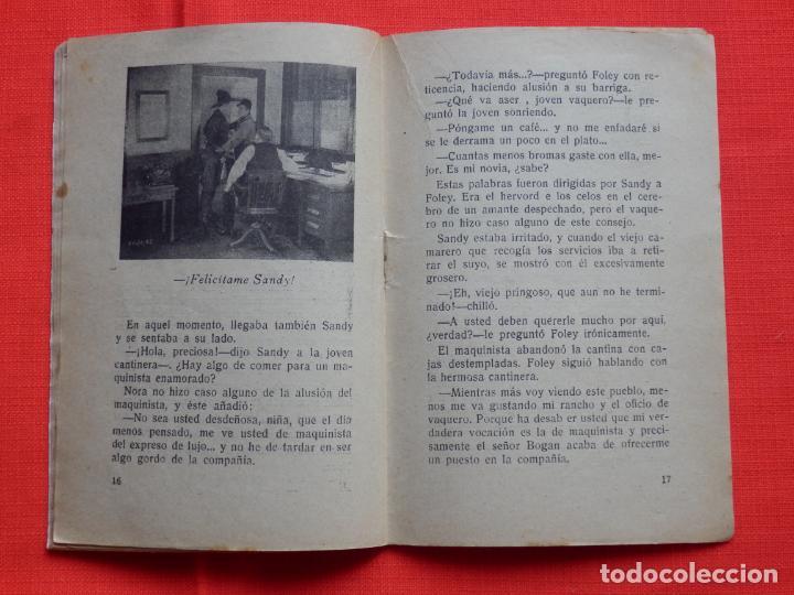 Cine: El tren desenfrenado, Biblioteca Trebol, novelilla, Jack Dangherty, 32 pág. - Foto 2 - 286820353